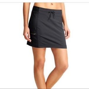 Athleta Original Trekkie Skort  Black Size 6